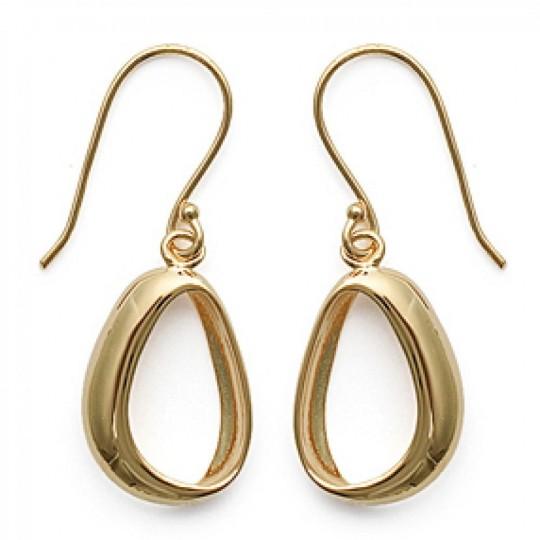 Earrings crochets modernes Gold plated 18k - Women