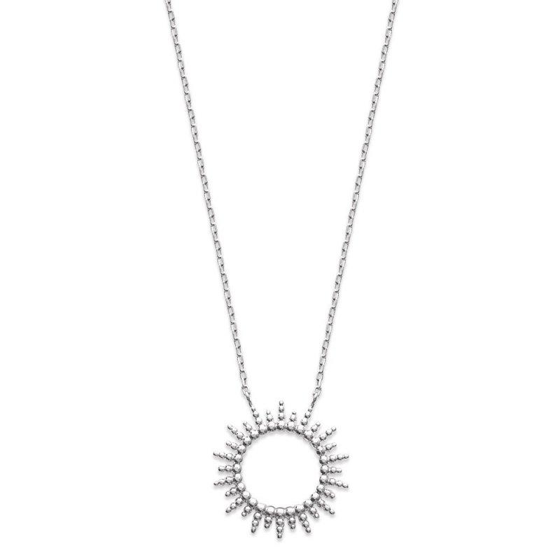 Halskette Soleil Argent - Damen - 45cm
