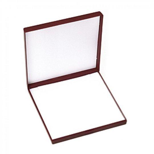 Écrin rouge pour Collier ou Chaîne avec pendentif boite cadeau