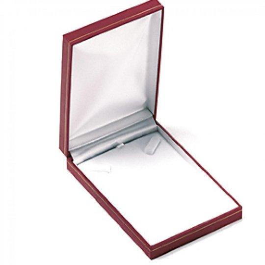 Écrin Leather rouge pour Necklace