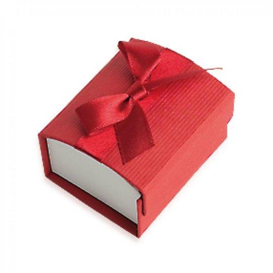 Écrin rouge pour Anillo 50x58x35mm