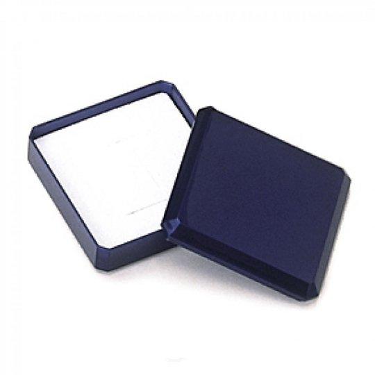 Écrin bleu pour Pendientes Cadena Colgante Collar fin