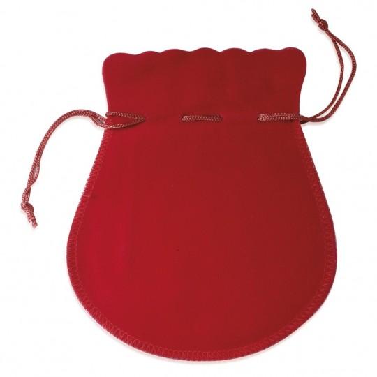 Pochon rouge 50mm pour Boucles d'oreilles Bague Chaîne Pendentif