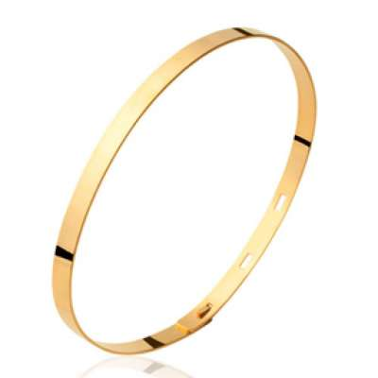 Armband réglable Vergoldet 18k - Männer Damen - 56mm