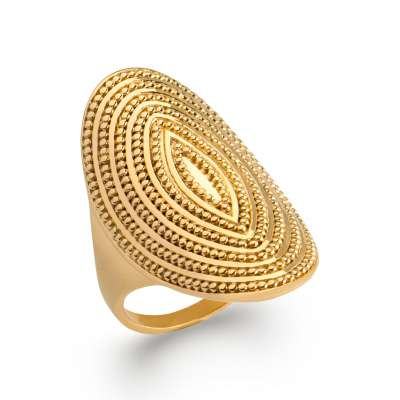Ring couvrante Gold plated 18k - Women