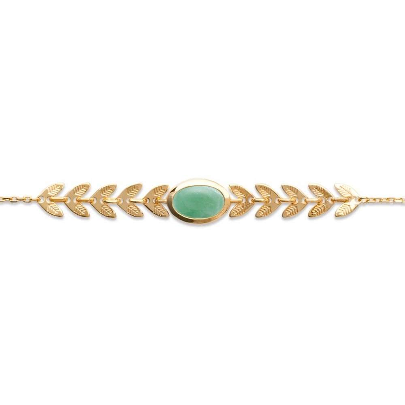 Bracelet Plaqué Or , Femme