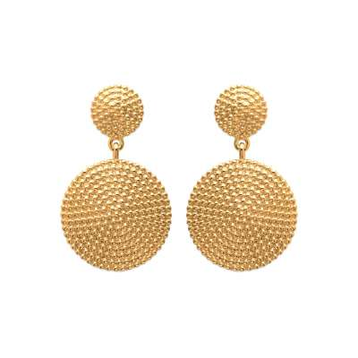 Drop Earrings rondes...