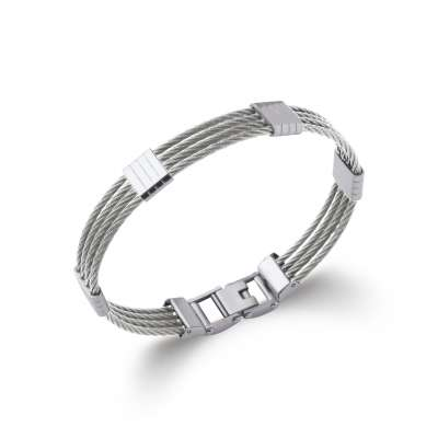 Bracelet Steel cable 316L - for Men - 66mm