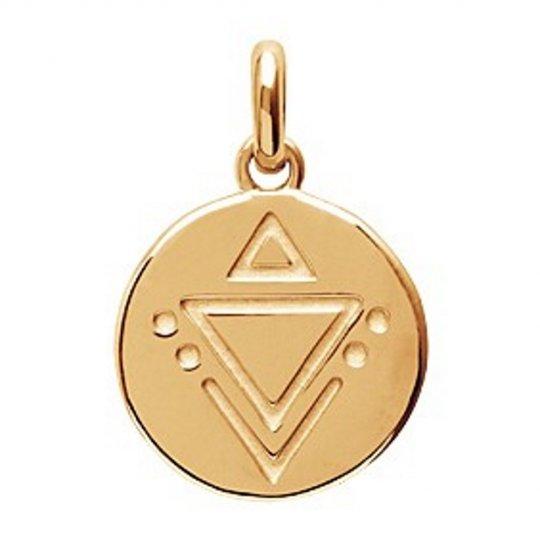 Pendentif Symboles triangle Plaqué Or - Femme