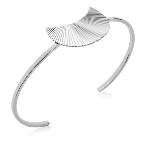 Bracciale Bangle éclipse avec reflets Argento Sterling 925 Rodiato - Donna - 58mm