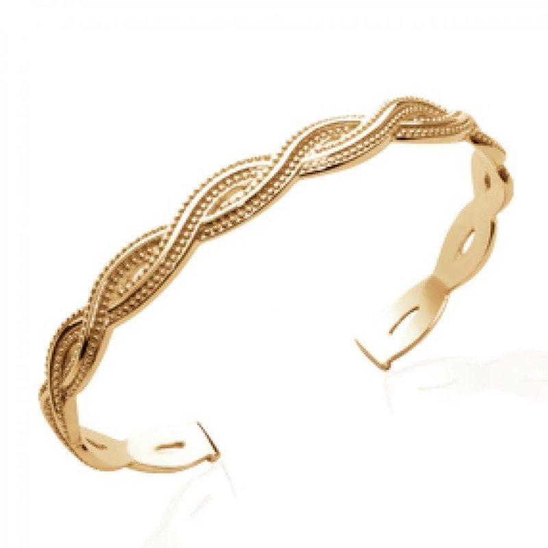 Armband tressé Vergoldet 18k - Damen - 56mm