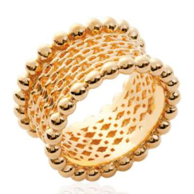 Ring Bangle style Chains Gold plated 18k - Women