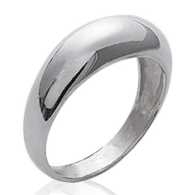 Anillo dôme fine 6mm Argent - Mujer