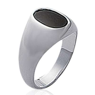Ring Chevaliere Argent - for Men