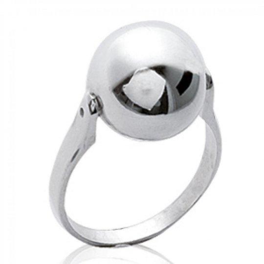 Ring grosse Ball  Argent - Women