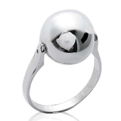 Ringe grosse Ball Argent - Damen
