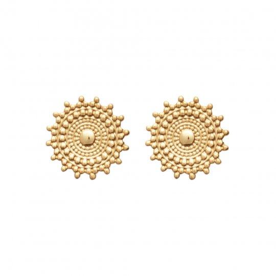 Ohrringe clous soleil Vergoldet 18k - Damen