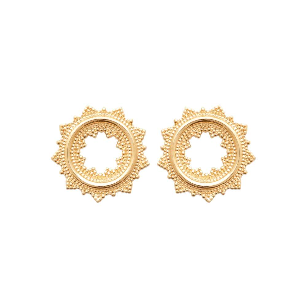 Earrings Gold plated 18k - Women