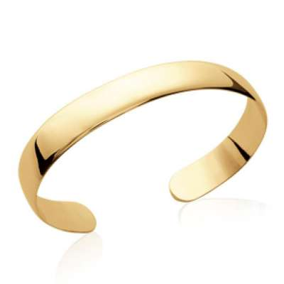 Bangle plat classique Gold plated 18k - Women - 58mm