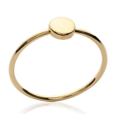 Ring Gold plated 18k fine idéale compositions - Women