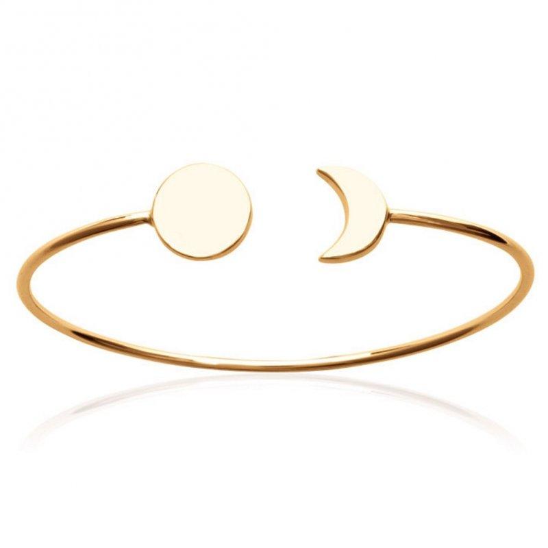 Armband Mondsichel & soleil Vergoldet 18k - Damen - 58mm