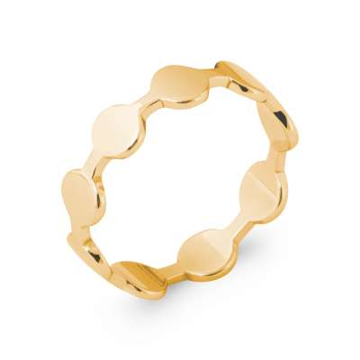 Ring petits ronds Gold plated 18k - Women