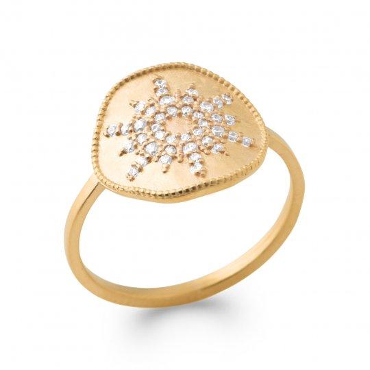 Ringe Vergoldet 18k - Zirconium - Damen