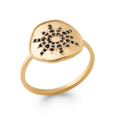 Ring Gold plated 18k - Women