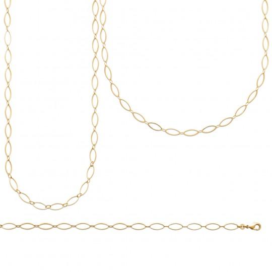 Halskette Vergoldet 18k - Damen - 45cm