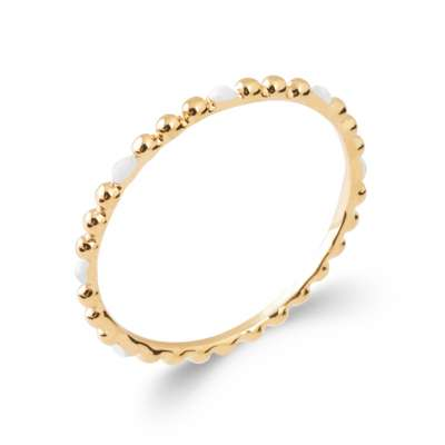 Anello Placcato in oro 18k - Donna