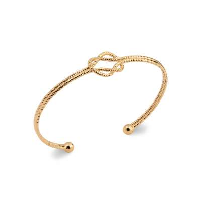 Bangle Gold plated 18k -...