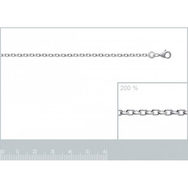 Catena de cou Forcat Argento Sterling 925 - Uomo/Donna - 45cm