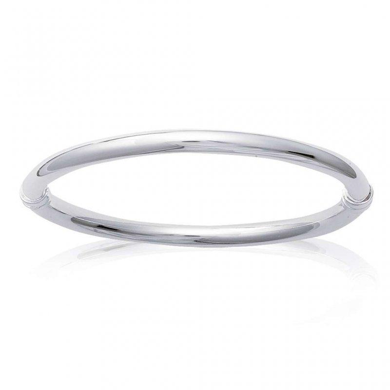Gros Armband fil épais 925 Sterling Silber - Damen - 62mm