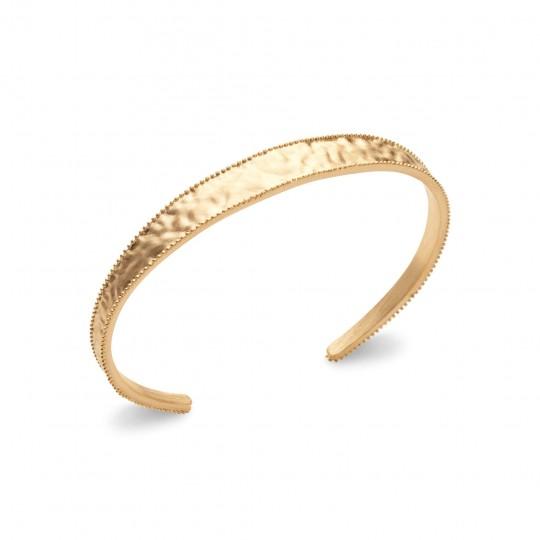 Bracciale Bangle Placcato in oro 18k - Donna - 58mm