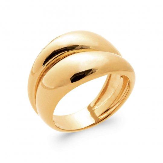 Anello Placcato in oro 18k - Donna