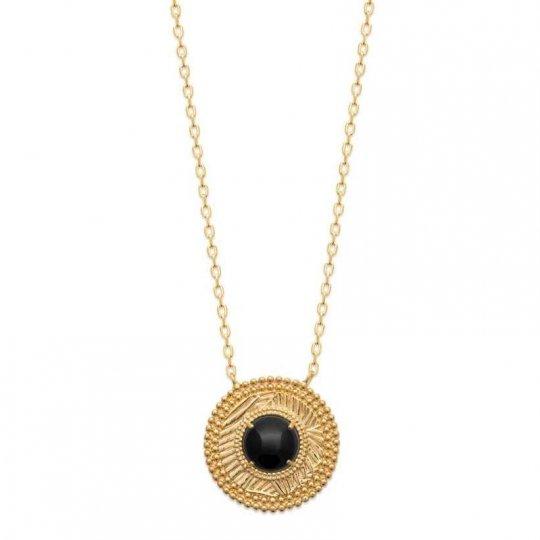 Collana Placcato in oro 18k - Agate - Donna - 45cm