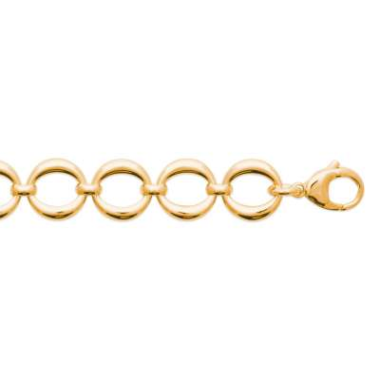 Bracelet Gold plated 18k - Women - 18cm