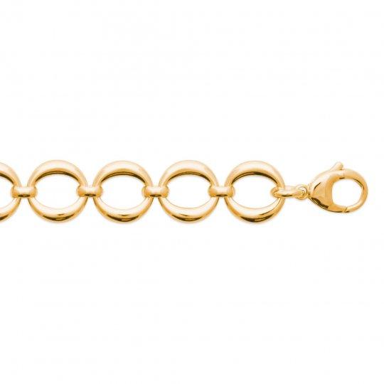 Bracelet Plaqué Or - Femme - 18cm
