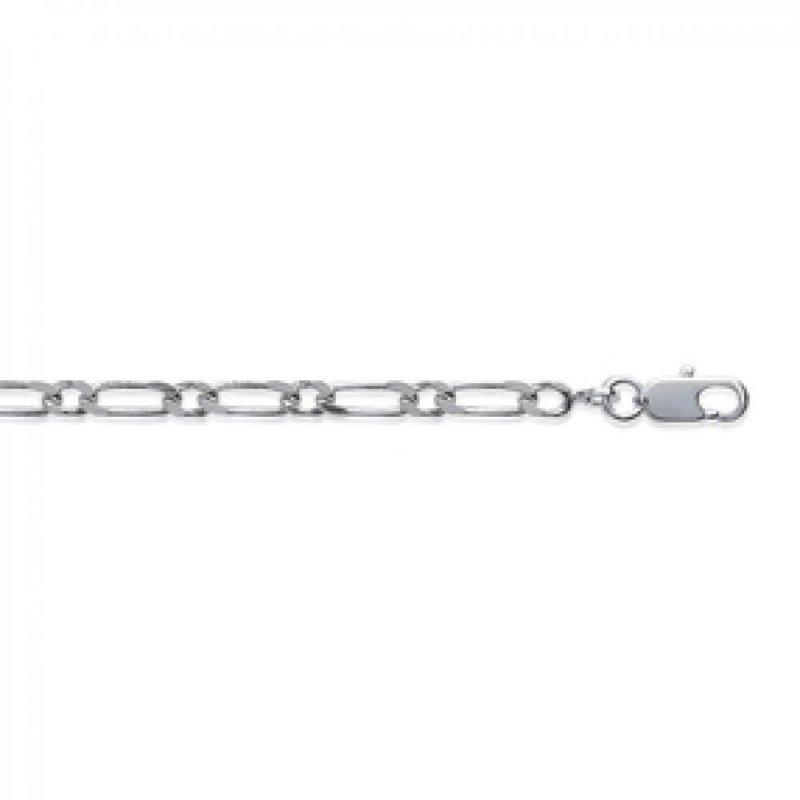 Kette de cou Figaro 925 Sterling Silber - Männer/Damen - 45cm