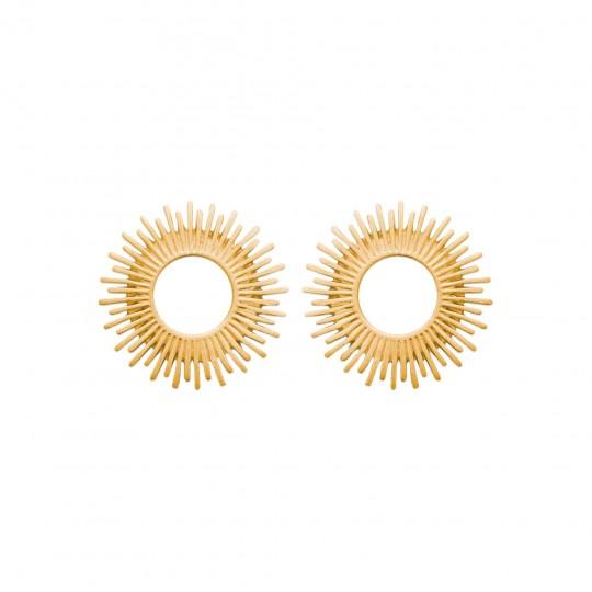 Pendientes Chapado en Oro 18K - Mujer