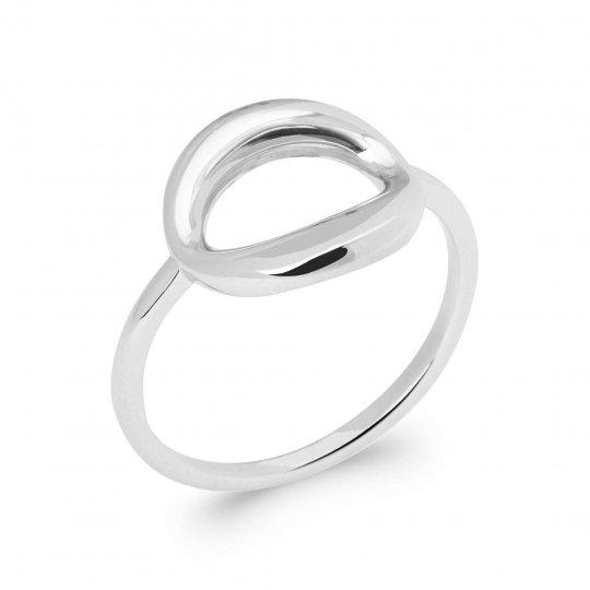 Ring Argent Rhodié - Women