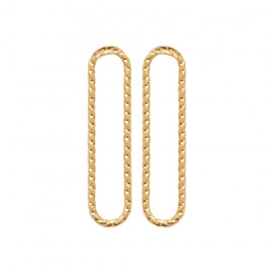 Orecchini Placcato in oro 18k - Donna