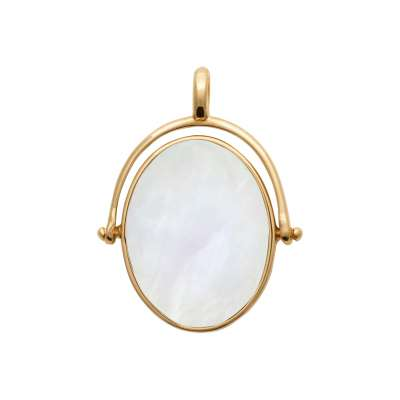 Pendants Gold plated 18k - Mother of pearl - Women