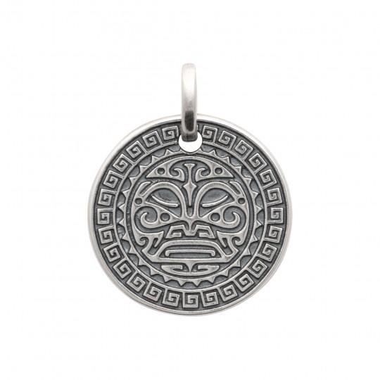 Pendentif Tribal Argent - Homme
