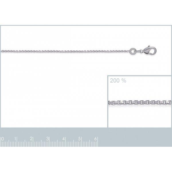 Kette de cou Venitienne 925 Sterling Silber rhodiniert - Damen - 45cm