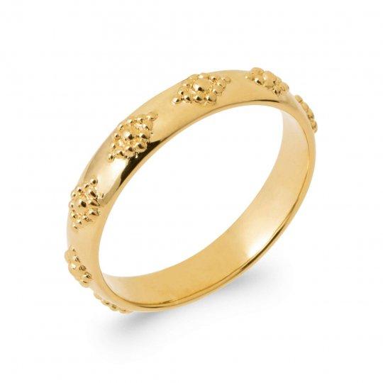 Anello Nuziale Fede Placcato in oro 18k - Donna