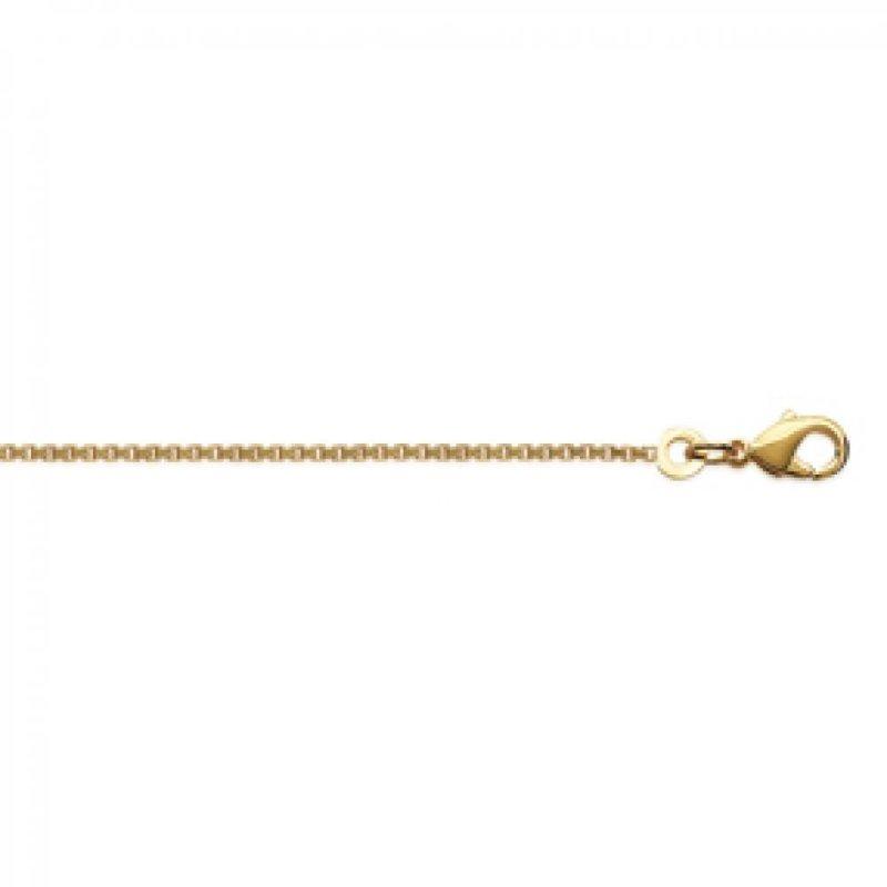 Cadena Venitienne Chapado en Oro 18K - Mujer - 50cm