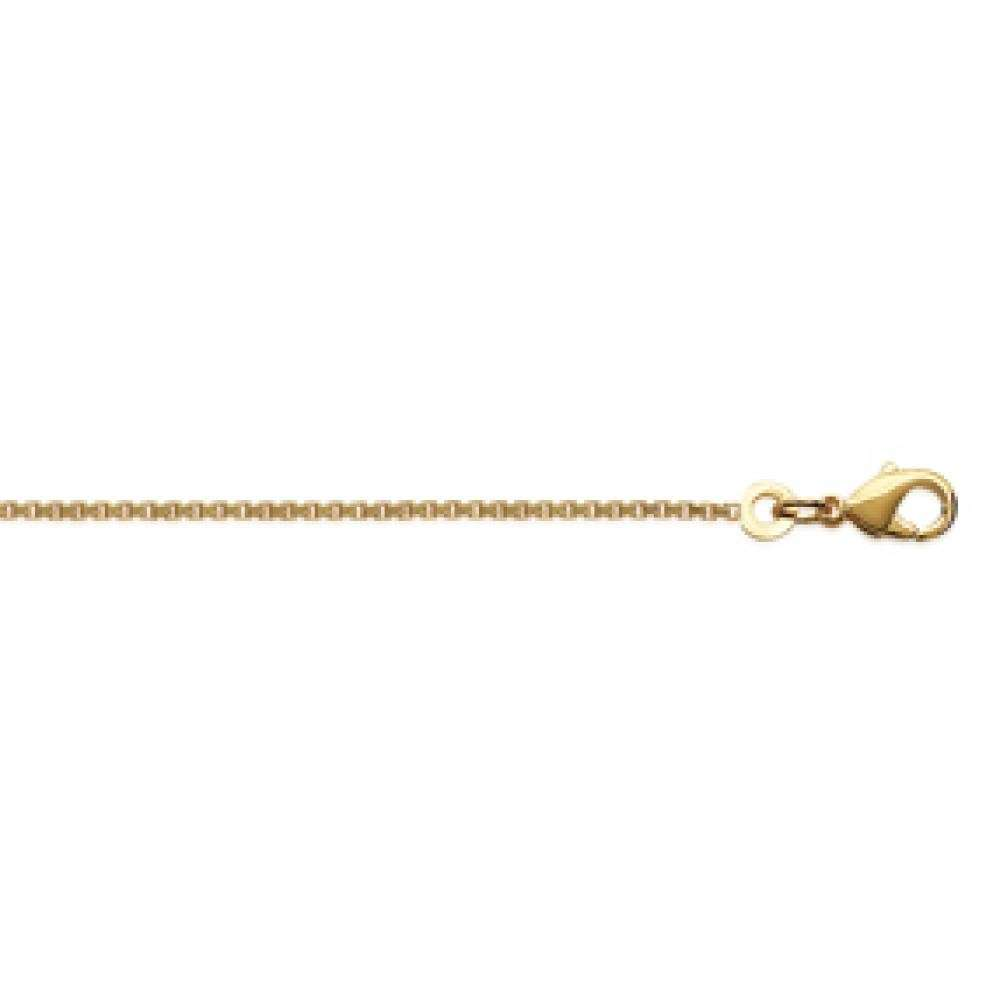 Chain Venitienne Gold plated 18k - Women - 50cm