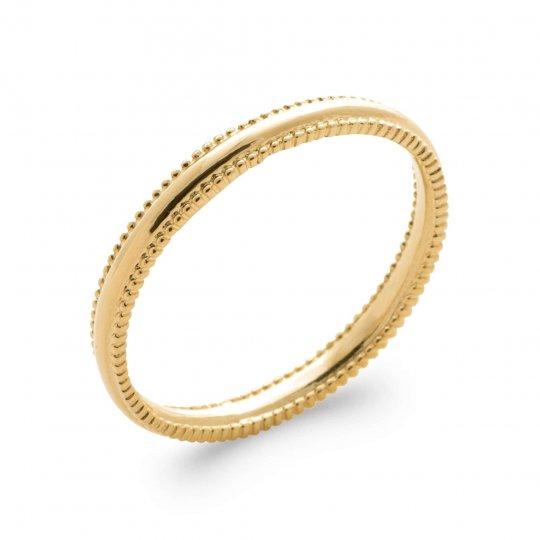 Ring fine Gold plated 18k - Women