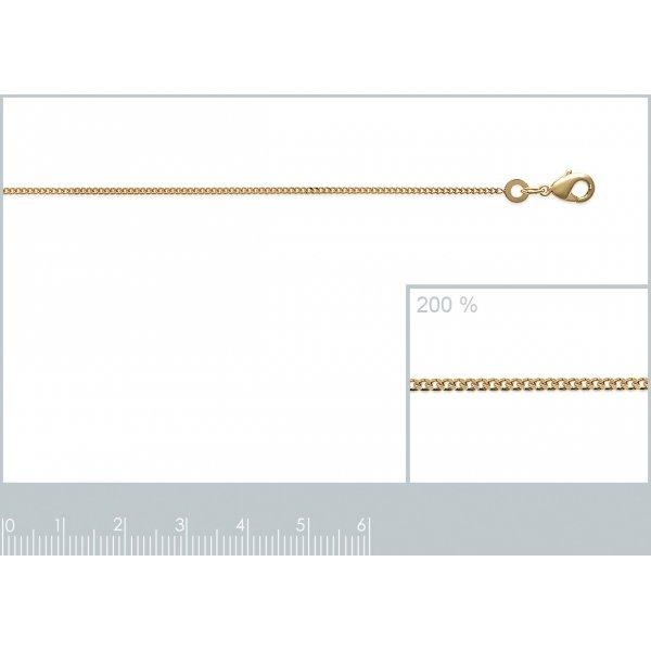 Cavigliere Gourmette Placcato in oro 18k - Uomo/Donna - 25cm